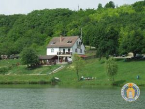 Horgász tóház
